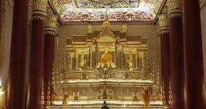 วัดเทพศิรินทราวาสราชวรวิหาร-ภายในอุโบสถ