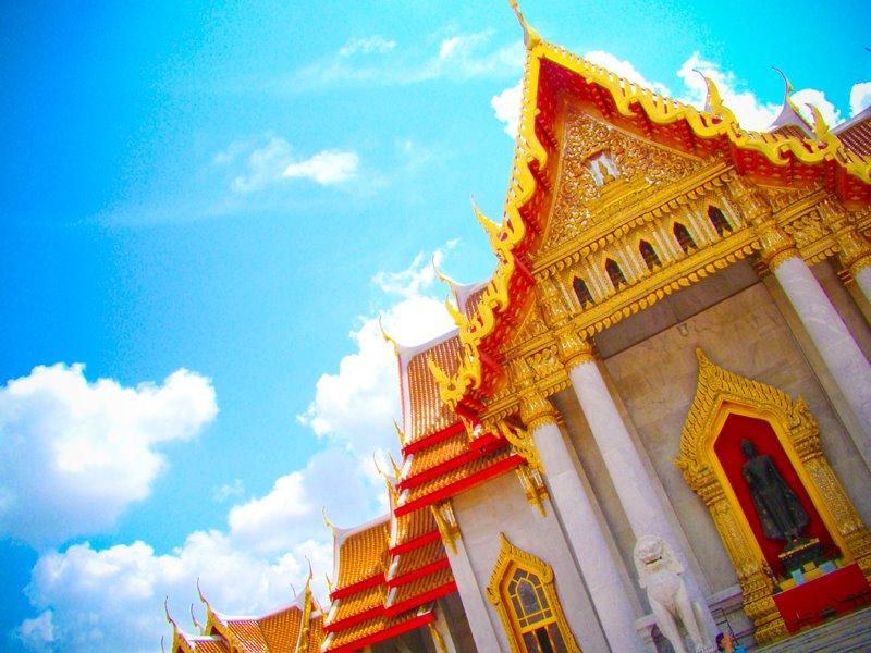 วัดเบญจมบพิตรดุสิตวนารามราชวรวิหาร-สวยงาม