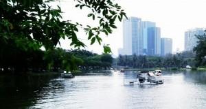 สวนจตุจักร-สระน้ำ