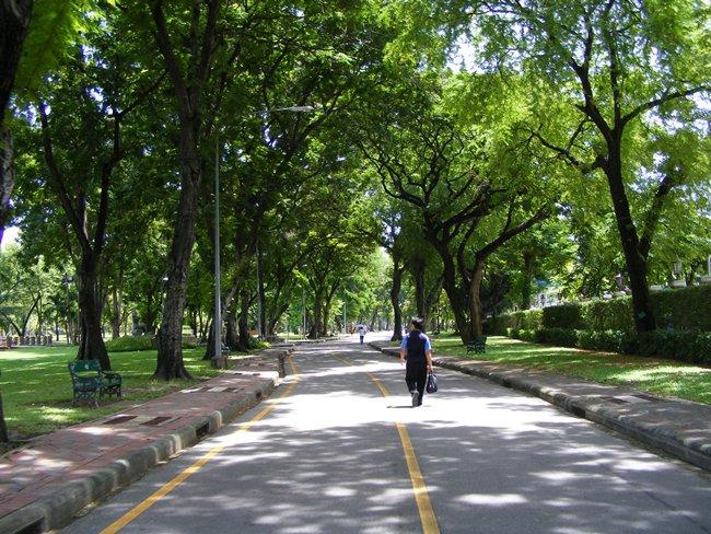 สวนลุมพินี-ทางเดินเเละวิ่ง