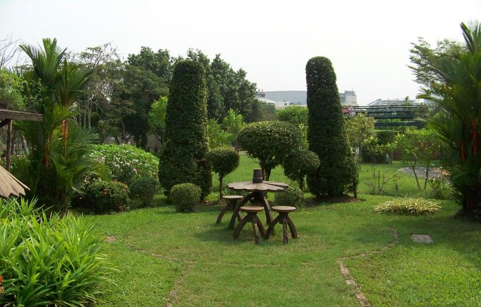 สวนสมเด็จพระนางเจ้าสิริกิติ์-การจัดสวน