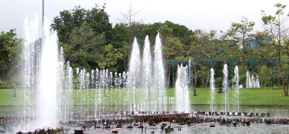 สวนสมเด็จพระนางเจ้าสิริกิติ์-น้ำพุ