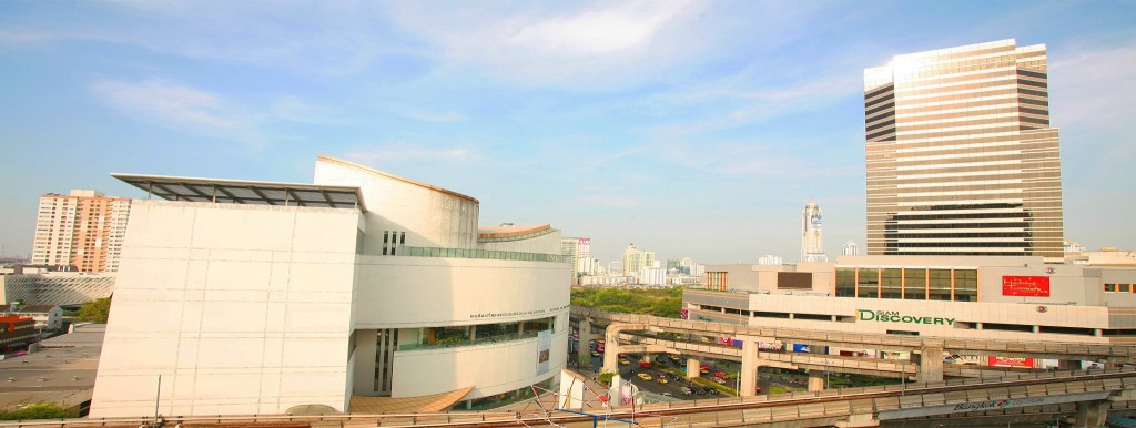 หอศิลปวัฒนธรรมแห่งกรุงเทพมหานคร-มุมสูง