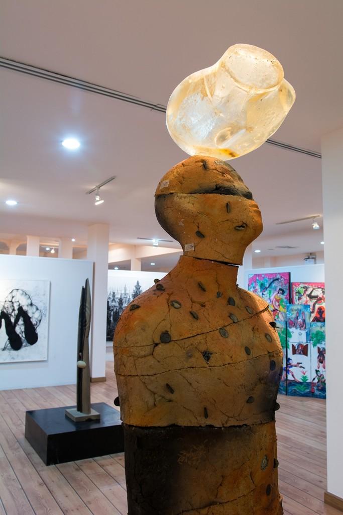 หอศิลป์กรุงไทย-ปะติมากรรม