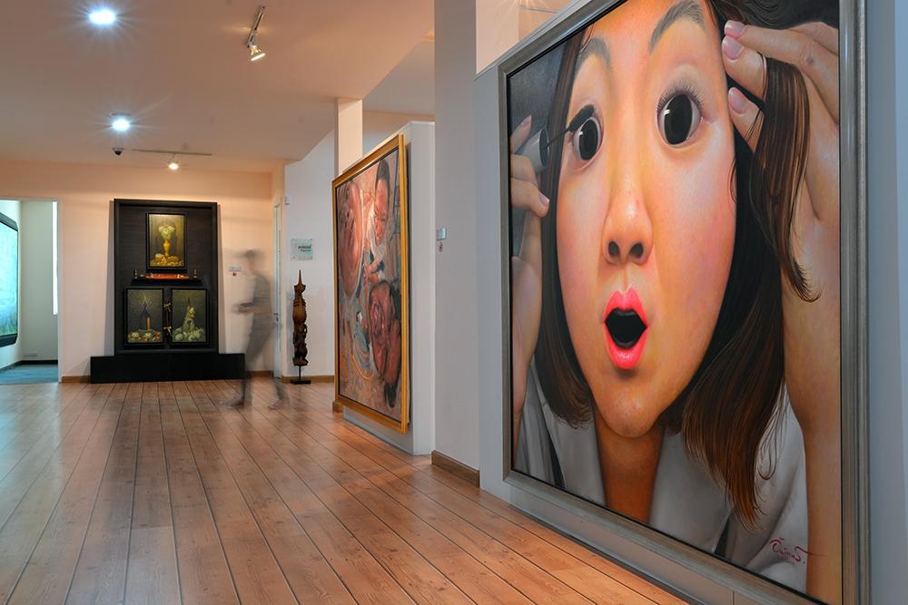 หอศิลป์กรุงไทย-ภาพเขียน