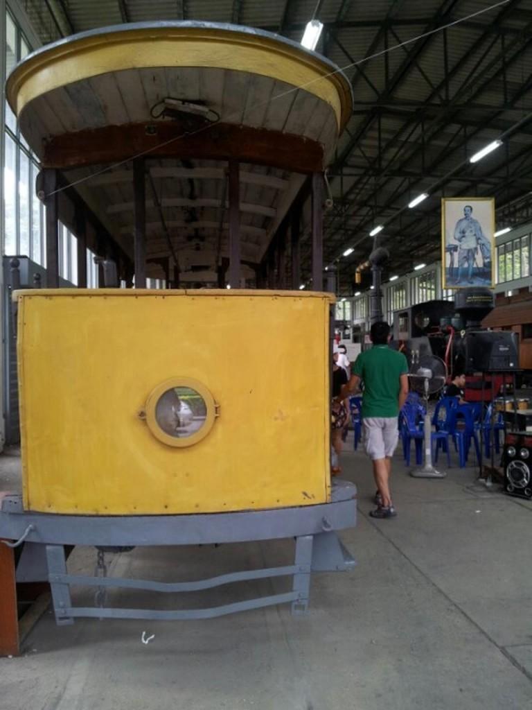 หอเกียรติภูมิรถไฟ-รถราง