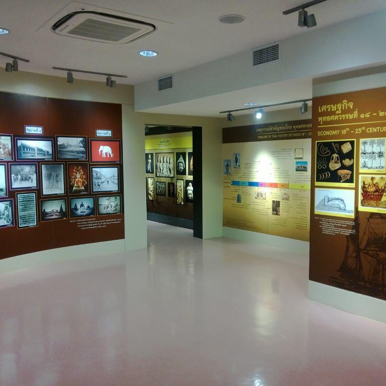หอไทยนิทัศน์-ภายในห้องจัดเเสดง
