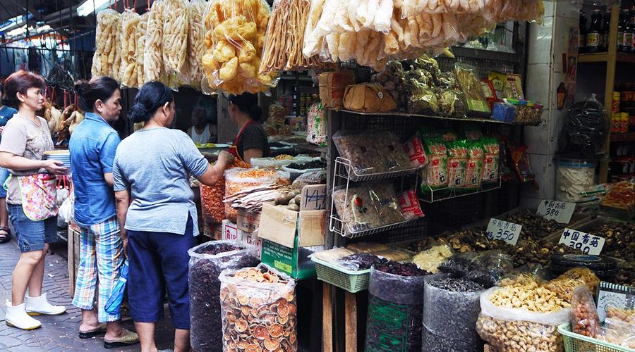 เยาวราช-สินค้าจีนมากมาย