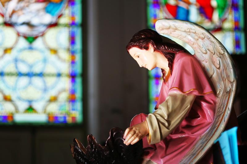 โบสถ์กาลหว่าร์-ประติมากรรม