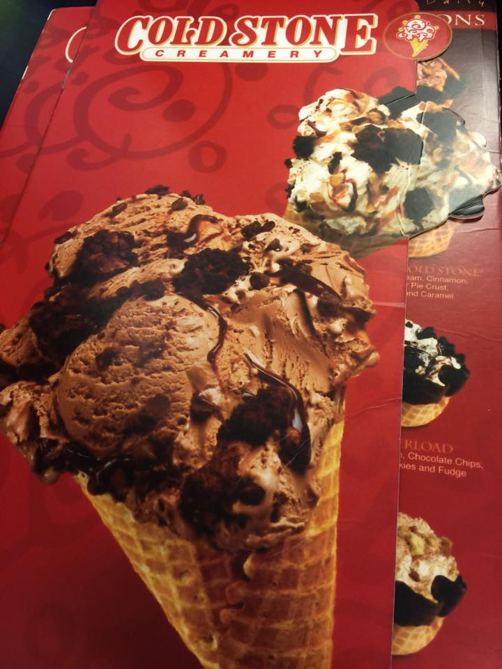 Cold Stone Creamery at Central Festival Chiang Mai