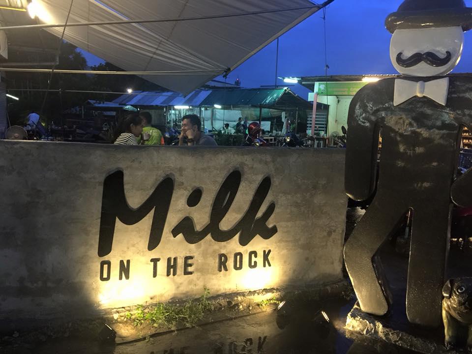 Milk on the rock