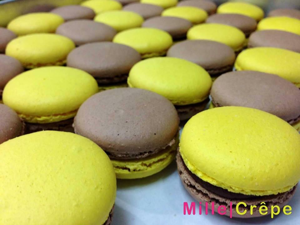 มิลล์เครป -สีสันสดใส