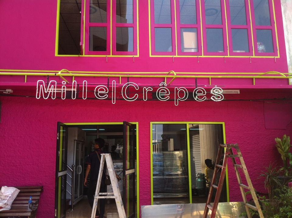 มิลล์เครป -หน้าร้าน
