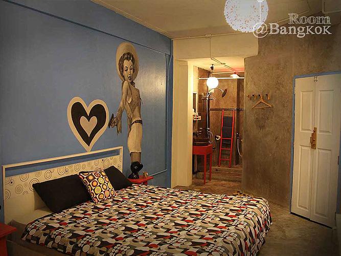 รูมแอทแบงก์ค็อก-ห้องพักสวยงาม