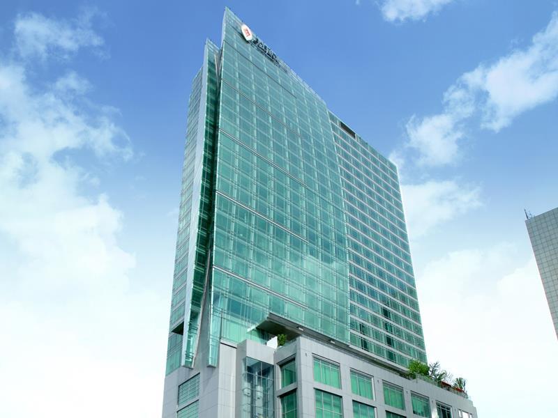 อีสติน แกรนด์ สาทร-อาคารสวยงาม