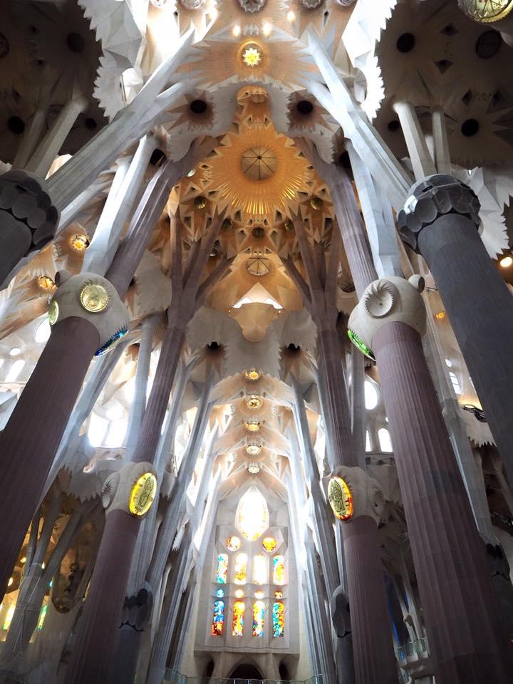 เที่ยวโบสถ์ส Sagrada Familia