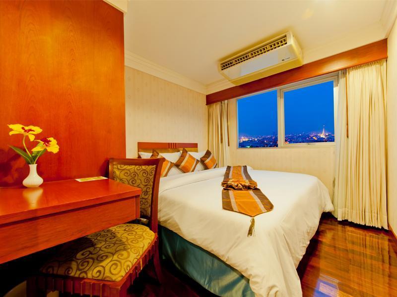 โรงแรมปริ๊นซ์ พาเลซ-ภายในห้องพัก