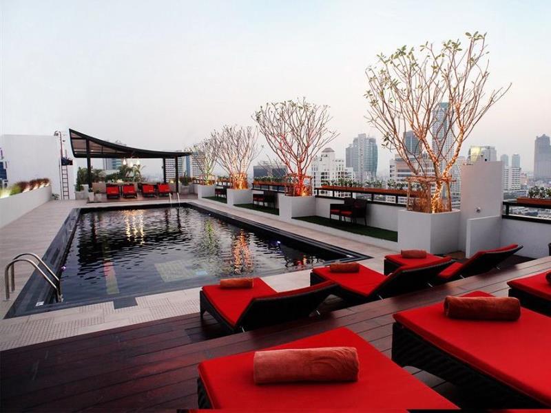โรงแรมฟูรามา สีลม กรุงเทพ-สระว่ายน้ำ