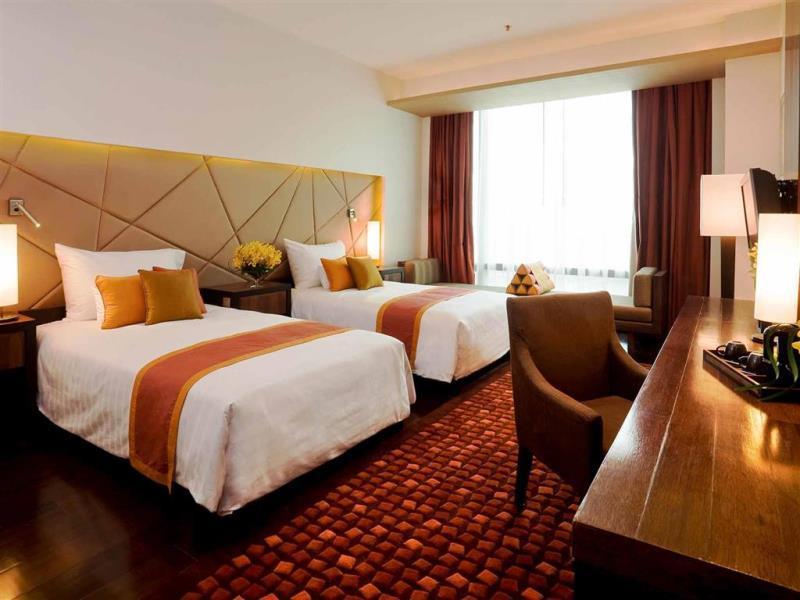 โรงแรมวี กรุงเทพ-บรรยากาศในห้องพัก