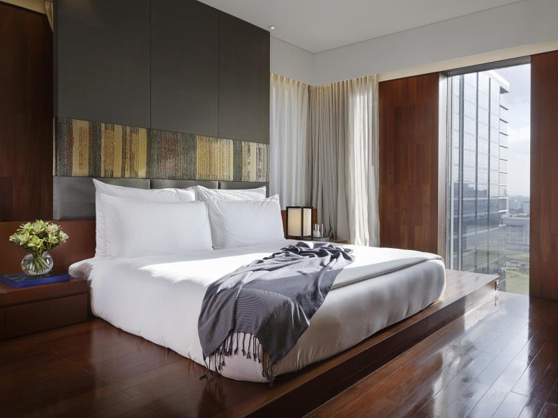 โรงแรมหรรษา กรุงเทพ-เตียงนอน