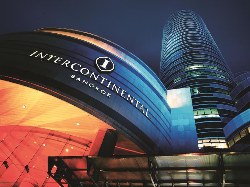 โรงแรมอินเตอร์คอนติเนนตัล กรุงเทพ-ด้านหน้า