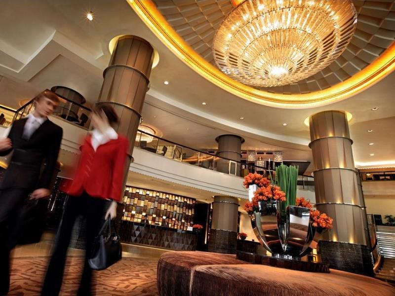 โรงแรมอินเตอร์คอนติเนนตัล กรุงเทพ-บรรยากาศล็อบบี้