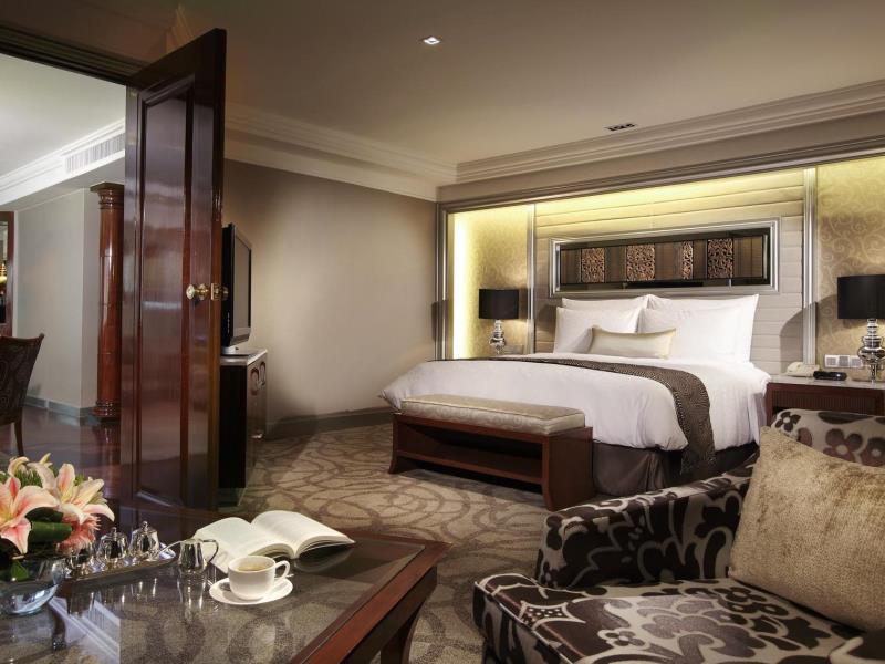 โรงแรมอินเตอร์คอนติเนนตัล กรุงเทพ-บรรยากาศห้องพัก