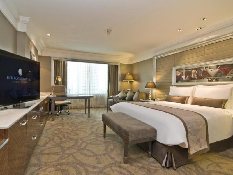 โรงแรมอินเตอร์คอนติเนนตัล กรุงเทพ-ห้องพัก