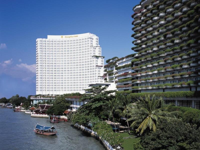 โรงแรมแชงกรี-ลา-ตัวอาคาร
