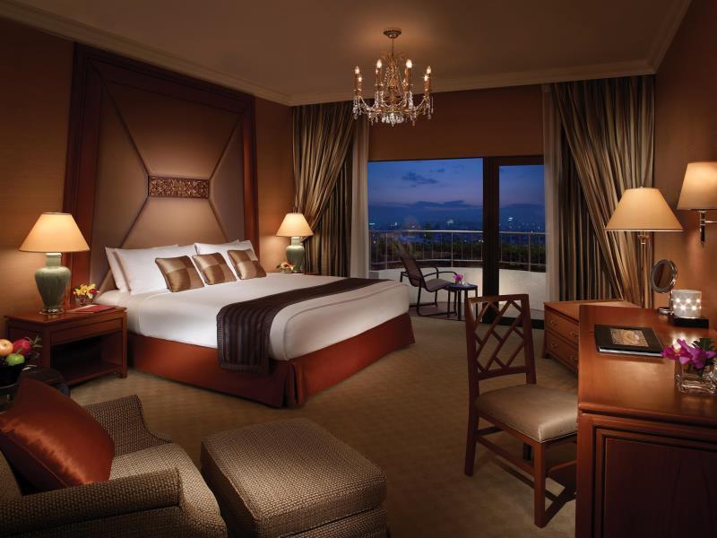 โรงแรมแชงกรี-ลา-บรรยากาศห้องพัก