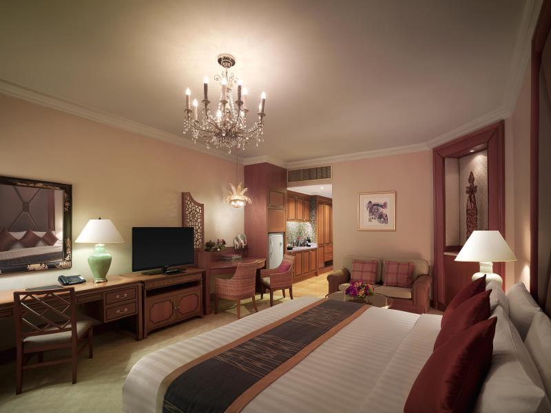 โรงแรมแชงกรี-ลา-ห้องพัก
