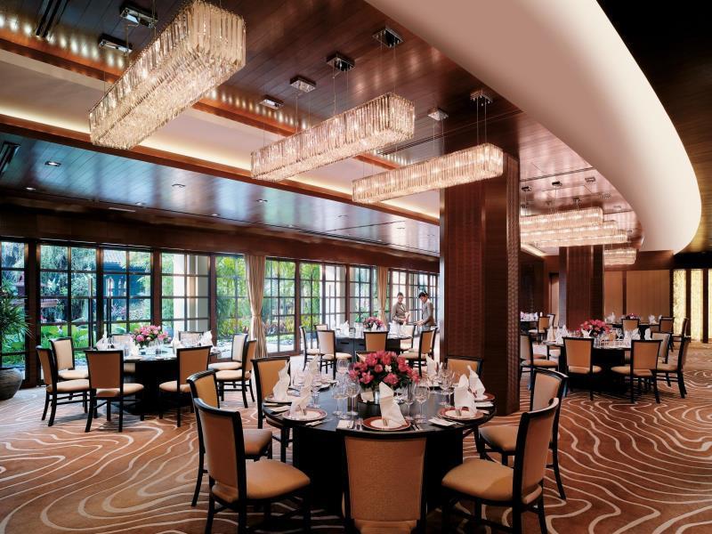 โรงแรมแชงกรี-ลา-ห้องอาหาร