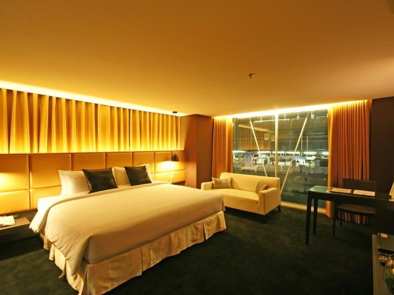 ไอ เรสซิเดนซ์ สีลม-ความสวยงามห้องพัก