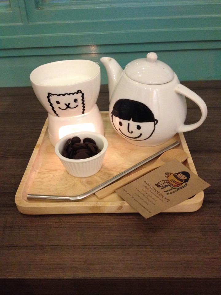 Hot Chocolate Pot
