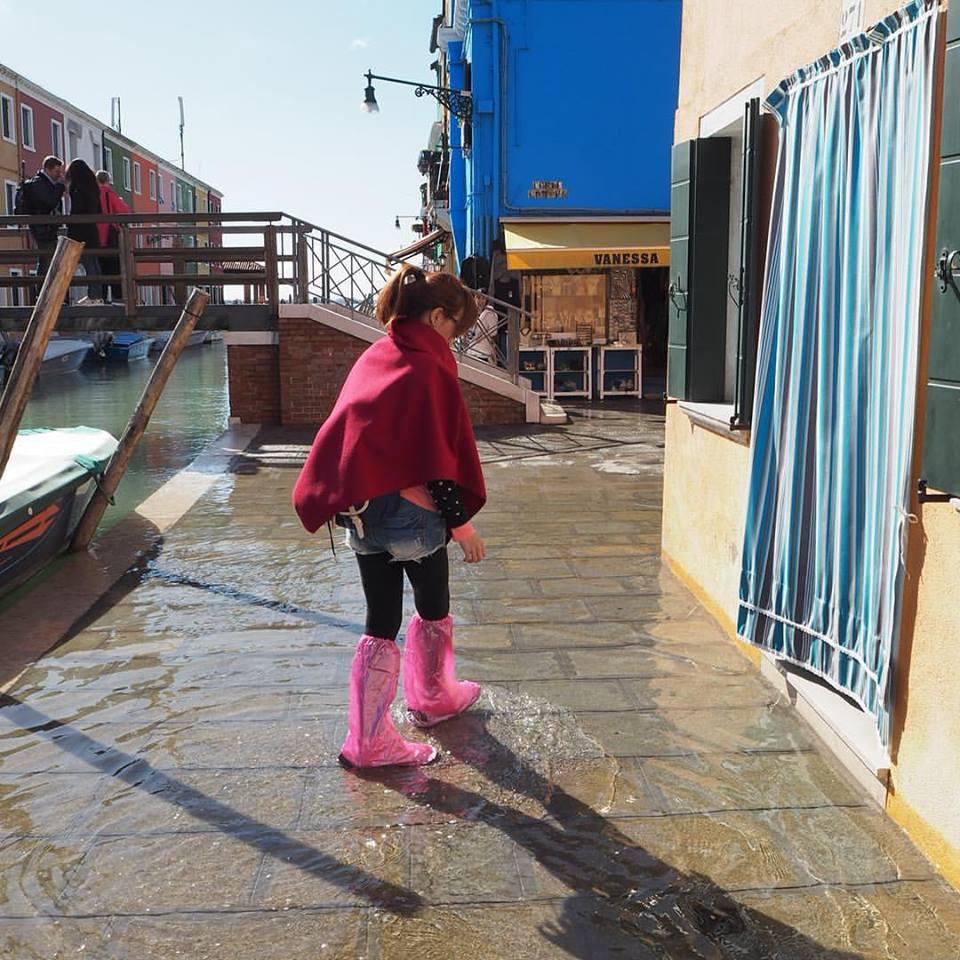 Venice น้ำท่วม