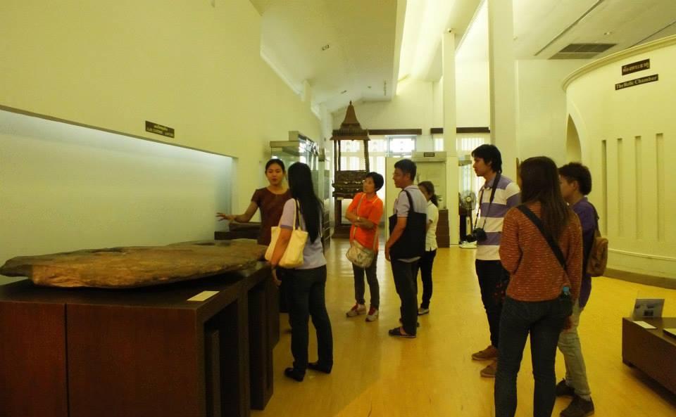 พิพิธภัณฑสถานแห่งชาติรามคำแหง-บรรยากาศการเข้าชมพิพิธภัณฑ์
