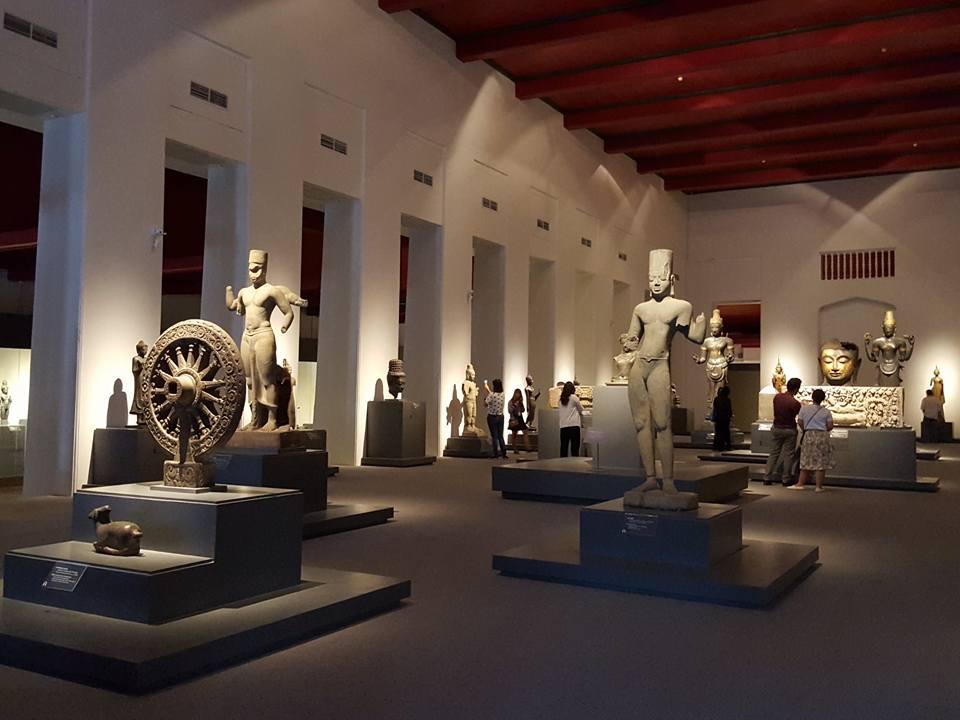 พิพิธภัณฑสถานแห่งชาติสวรรควรนายก-การจัดเเสดง