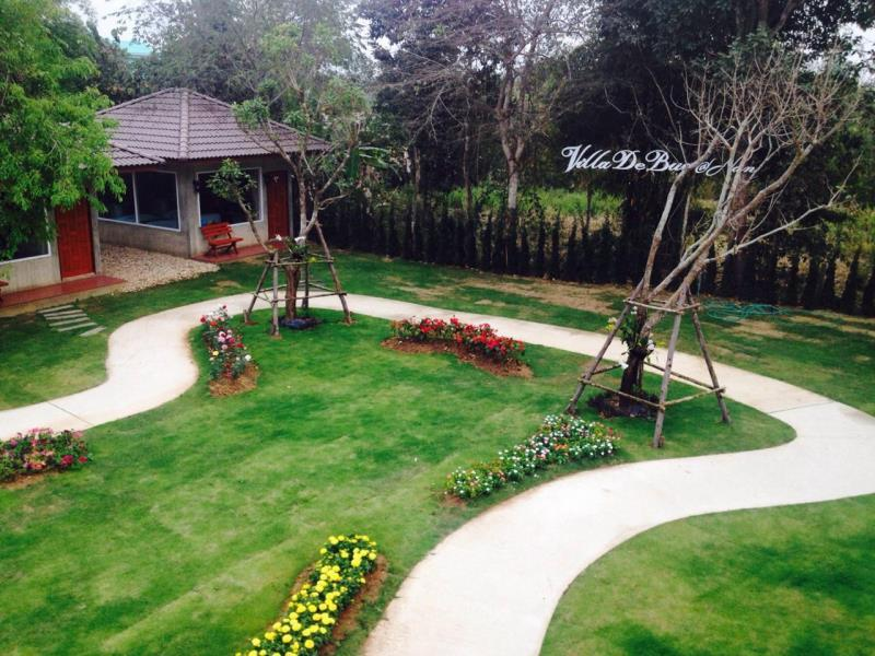 วิลลา เดอ บัว รีสอร์ต แอนด์ สปา แอท น่าน-สวนสวย