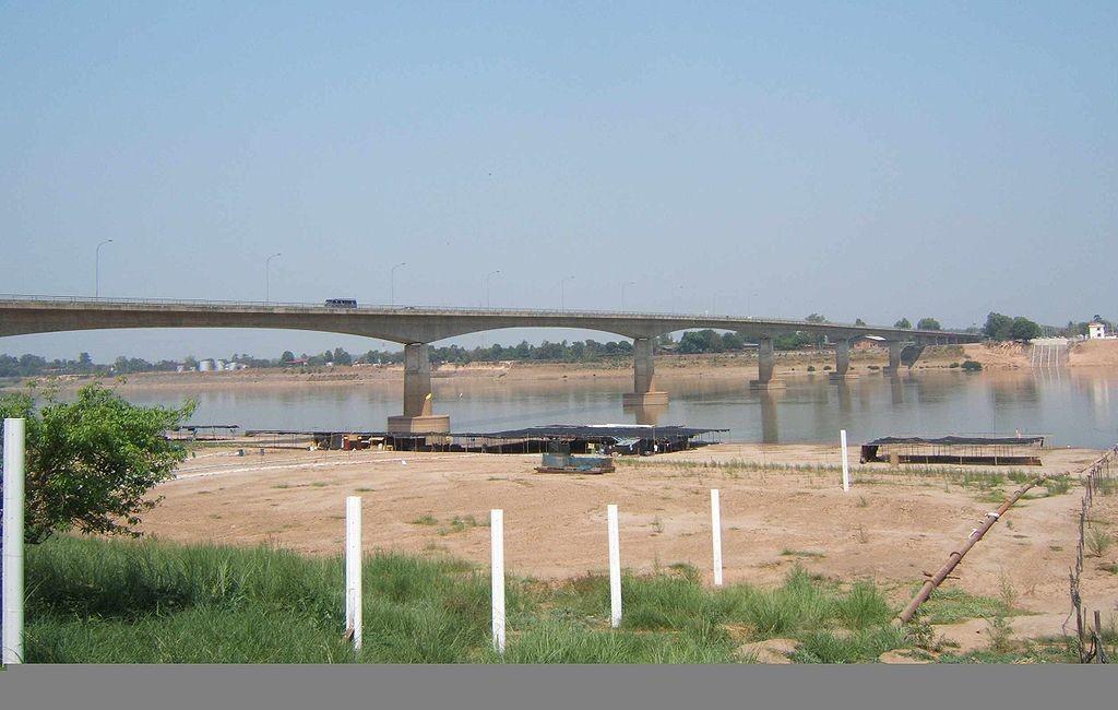 สะพานมิตรภาพ ไทย-ลาว-วิว