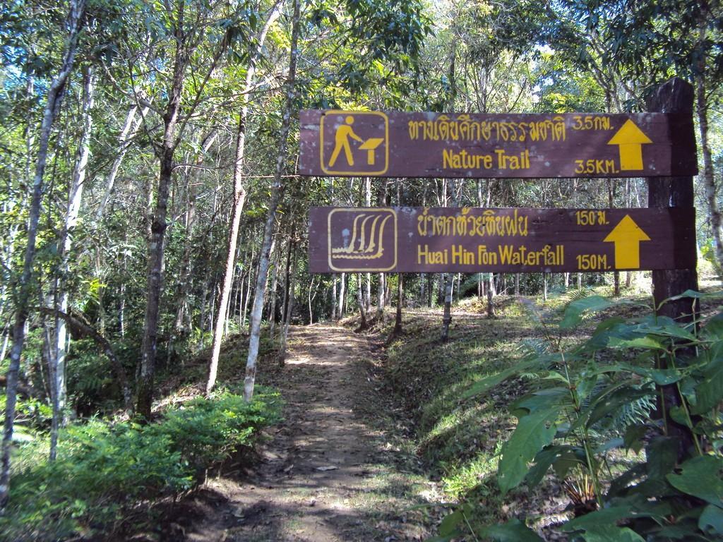 อุทยานแห่งชาติขุนน่าน-ทางเดินป่า