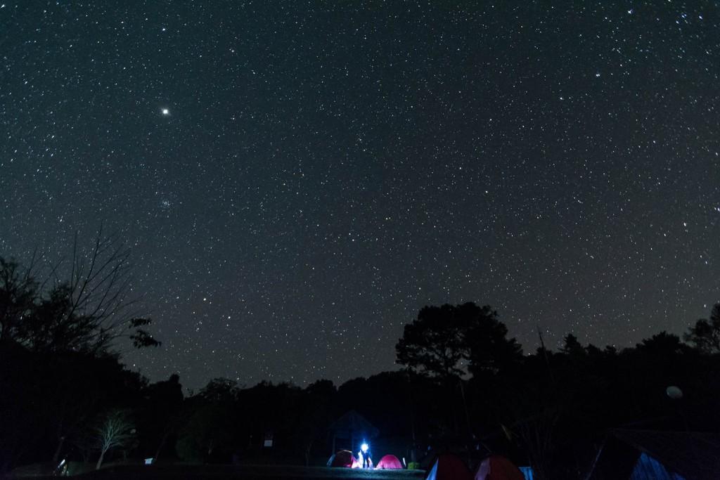 อุทยานแห่งชาติรามคำแหง-ดูดาวยามค่ำคืน
