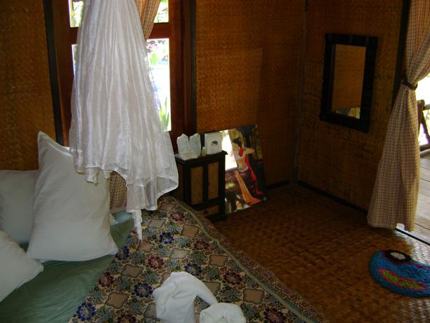 บ้านน้ำฮู โฮมสเตย์ -ภายในห้องพัก