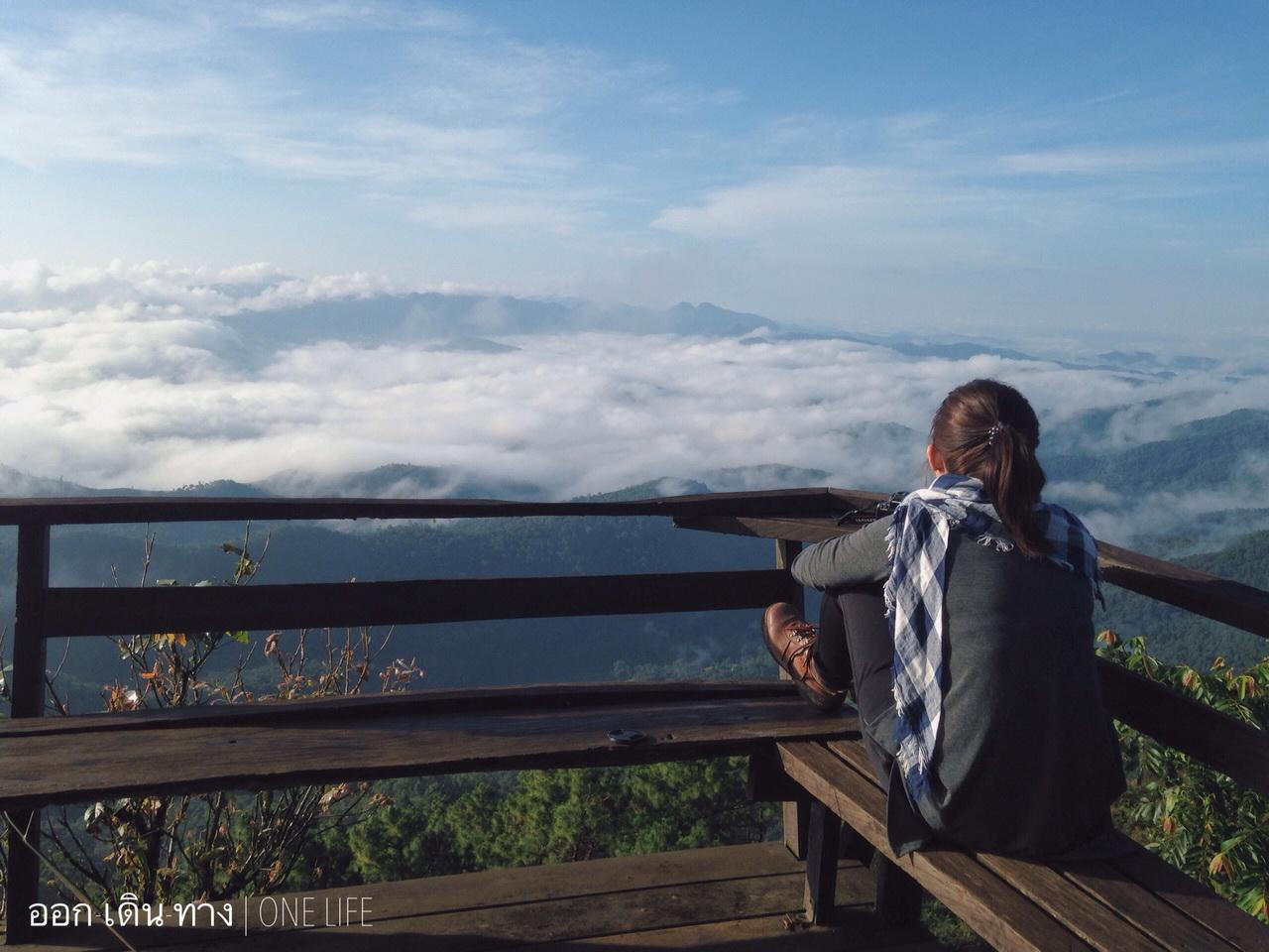 นั่งเงียบๆ บนความสูง 1,818 เมตร