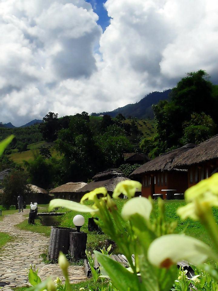 ศูนย์วัฒนธรรมจีนยูนาน บ้านสันติชล-บรรยากาศ