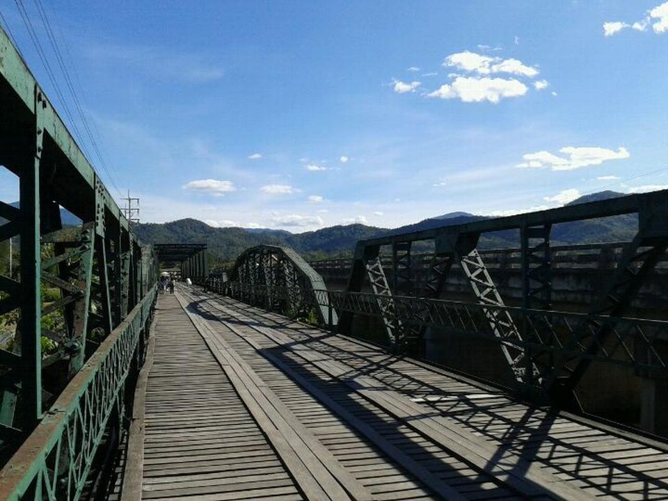 สะพานประวัติศาสตร์ ท่าปาย-ตัวสะพาน