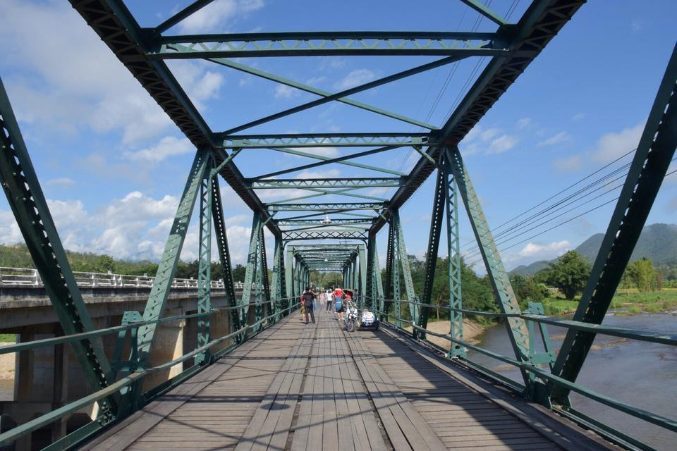 สะพานประวัติศาสตร์ ท่าปาย-โครงสร้างเหล็ก