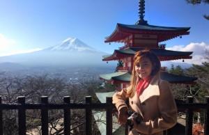 เที่ยวญี่ปุ่นด้วยตัวเอง ชมภูเขา ฟูจิ fuji