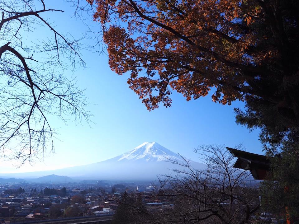 เที่ยวภูเขาฟูจิ ด้วยตัวเอง