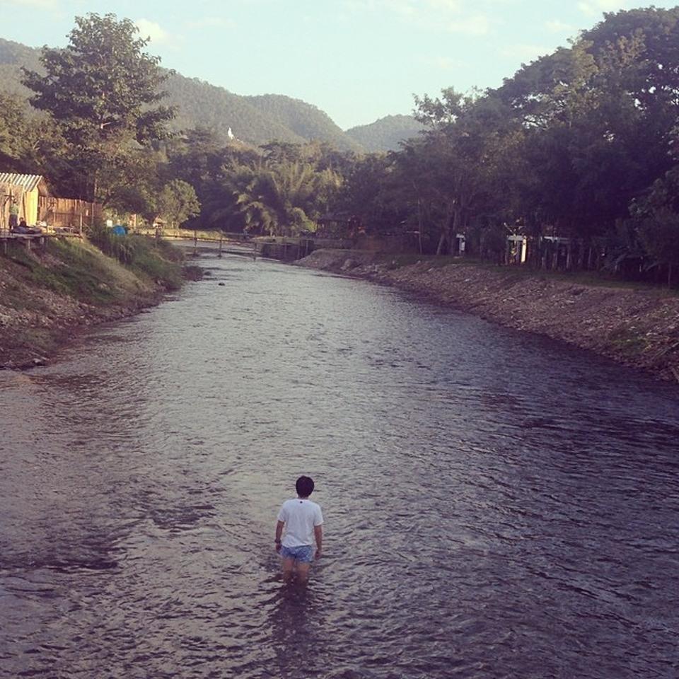 เเม่น้ำปาย-สวยงาม