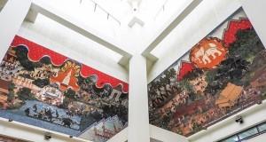 ศูนย์วัฒนธรรมอีสานใต้ บุรีรัมย์-ภาพเขียน